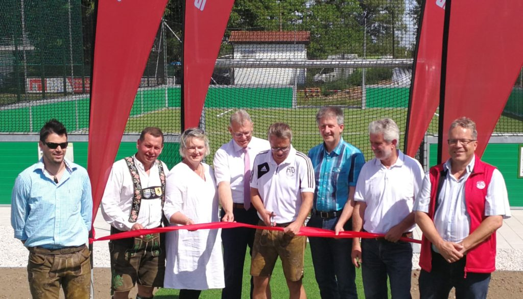 Soccer-Box mit herrlichem Sommerfest eröffnet