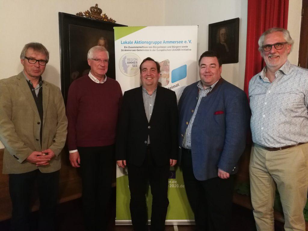 """Lokale Aktionsgruppe (LAG) Ammersee beschließt """"wichtiges und mutiges"""" Projekt"""